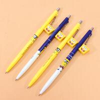 晨光活动铅笔 海绵宝宝挂件 黑0.5mm0.7mm创意卡通小学生自动笔 按动铅笔