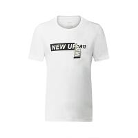 特步男子运动T恤2018春季舒适轻便健身休闲运动短袖针织衫男款882229019134