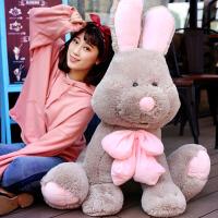 毛绒公仔娃娃送女生 可爱邦尼兔子毛绒玩具抱枕公仔布娃娃睡觉抱女孩玩偶萌 美国兔子