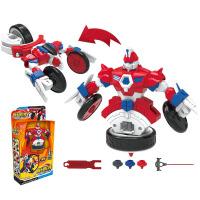 灵动创想魔幻陀螺3机甲战车玩具之旋力升级套装赤影剑齿鲨魅影赤天鹰幻甲玩具