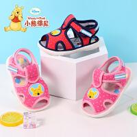 小熊维尼童鞋 宝宝学步鞋2017夏季新款婴儿鞋 软底1-3岁宝宝鞋