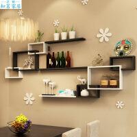 墙上置物架壁挂客厅电视背景墙墙面隔板创意收纳壁柜墙壁餐厅装饰生活日用创意家居