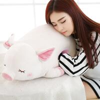 可爱猪公仔送女生毛绒玩具猪猪抱枕玩偶布娃娃暖手捂友圣诞节礼物