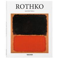 [现货]英文原版 Rothko 抽象派画家马克・罗斯科绘画艺术作品集 画集 Taschen Basic Art 2.0 塔森 艺术基础系列 进口原版