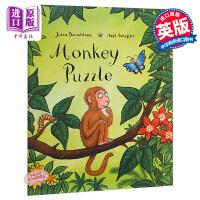 【中商原版】小猴子找妈妈 英文原版 Monkey Puzzle Big Book 地板书 名家绘本