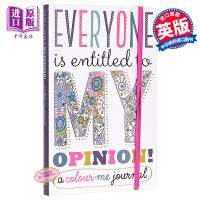 【中商原版】我的意见笔记本 Me Journal 益智游戏书 玩具书 幼儿启蒙 性格习惯养成 日记 4~6岁 英文原版