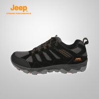 【特惠价】Jeep/吉普 男士户外耐磨防滑厚底减震运动徒步登山鞋J741091104