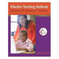 【预订】Effective Teaching Methods: Research-Based Practice Y97