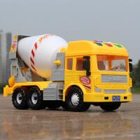 儿童玩具翻斗车水泥罐车搅拌车宝宝男孩玩具车惯性工程车大号