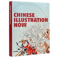 CHINESE ILLUSTRATION NOW 中国当代插画设计画册 中国风绘画 艺术作品书籍