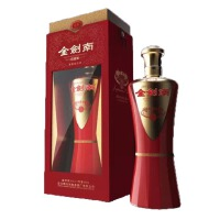 剑南 368元/瓶 金剑南收藏版 42度 500ml 四川绵竹剑南春酒厂出品
