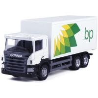 玩具车工程车运输车汽车模型男孩礼物1:64货柜车合金车