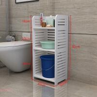 浴室置物架免打孔卫生间用品用具盆子收纳架落地厨房架子 省空间