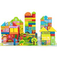 男女孩儿童积木玩具1--4岁婴幼儿木制玩具