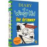 小屁孩日记12英文原版小说入门级 Diary of a Wimpy Kid 12 The Getaway 少儿童桥梁章