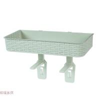 卫生间置物架壁挂浴室置物架吸壁式洗手间免打孔洁厕用品收纳架子