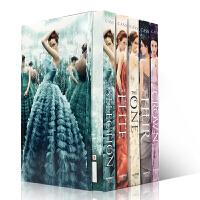 英文原版 决战王妃1-5全集套装The Selection 5-Book Box Set: The Complete