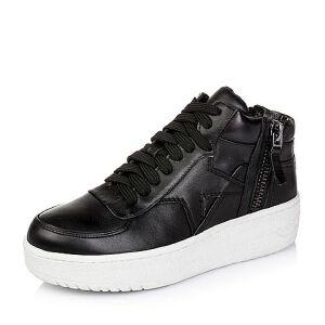 Teenmix/天美意专柜同款牛皮革女皮靴6D340DD5