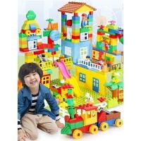儿童大颗粒积木拼装宝宝4玩具1-23-6女孩7-8-10周岁男孩智力