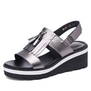 红蜻蜓女鞋女凉鞋WNK72873
