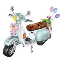 LOZ/俐智小颗粒拼插积木拼装玩具益智小绵羊摩托车儿童女孩子礼物