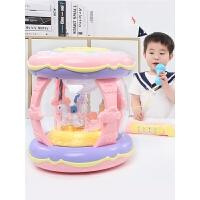 宝宝手拍鼓儿童拍拍鼓音乐婴儿1岁0-6-12个月充电玩具