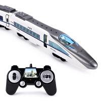3-6岁男孩玩具儿童仿真高铁动车和谐号模型电动遥控轨道火车