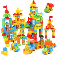 儿童积木拼装玩具6-7-8-10岁男孩塑料拼插宝宝1-2-3周岁女孩