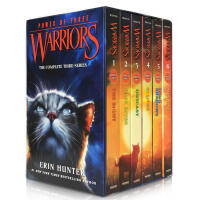 英文原版书Warriors Box Set:Volumes 1 to 6 猫武士三力量