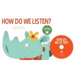 英文原版 Cantata Learning: How Do We Listen? 书+CD 歌谣学英文 STEM教育绘