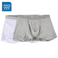 [秒杀价:16.9元,秒杀狂欢再续仅限4.6-4.10]一包2双 真维斯男装 春秋装 配色平脚内裤