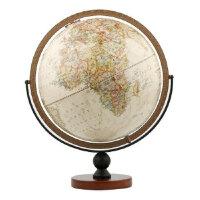 博目地球仪:30cm中英文政区复古立体地球仪(万向底座) 北京博目地图制品有限公司 测绘出版社 97875030380