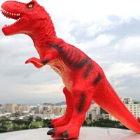 恐龙玩具模型霸王龙仿真动物世界套装巨无霸男孩儿童软塑胶