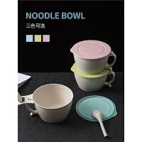 方便泡面神器碗筷带盖学生宿舍易清洗好看的餐具家用新款ins