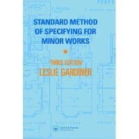 【预订】Standard Method of Specifying for Minor Works: The
