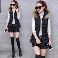 棉马甲女短款冬季韩版羽绒背心冬天女士坎肩加厚外套