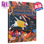 【中商原版】英文原版Julia Sarda插画版 爱丽丝漫游仙境 精装大开本One Day in Wonderland