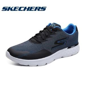 Skechers斯凯奇男鞋夏季低帮轻质跑鞋 网布透气减震运动鞋 54400