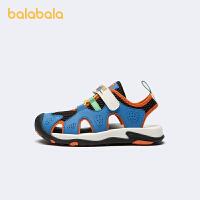 【5.8品类日 2件6折:149.9】【超人IP】巴拉巴拉官方童鞋男童凉鞋中幼童2021新款夏季鞋子透气
