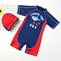 儿童泳衣男童 宝宝婴儿游泳衣中小童游泳裤连体泳装