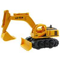 儿童玩具车耐摔惯性工程车 宝宝挖掘机男孩滑行推挖土机模型玩具