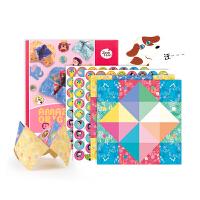 儿童折纸书diy手工制作材料幼儿园宝宝男女3-6岁折纸教程玩具