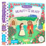 英文原版 First Stories BUSY系列童话故事篇美女和野兽Beauty and the Beast纸板机关