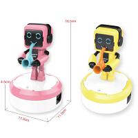 儿童智能感应机器人乐队电动玩具男孩女孩情侣演奏灯光音乐
