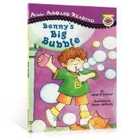 英文原版 Benny's Big Bubble 班尼的大泡泡 汪培�E一1阶段私房书单