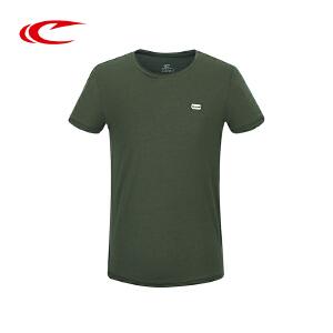 赛琪T恤正品夏季男士运动T恤圆领短袖透气舒适排汗运动休闲服短T