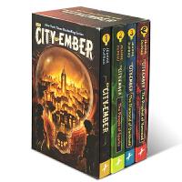 【全店满300减100】进口英文原版 The City of Ember Complete Boxed Set 微光之城