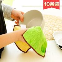 家居用品创意居家小东西厨房用具小百货实用生活日用厨房清洁神器 绿粉混装10条