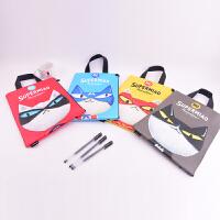 Languo蓝果 LG-10062喵咪联盟-A4文件袋 颜色图案随机 单个销售 当当自营