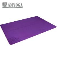 环保防滑瑜伽垫加大加宽120cm双人健身TPE瑜伽垫 8mm(初学者)